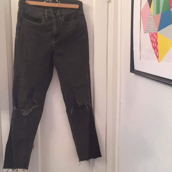 Urban Outfitters Denim - High waist distressed jeans